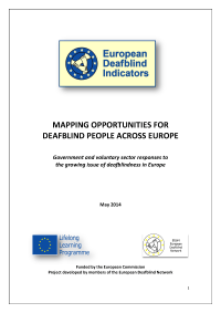 Mapping opportunities for Deafblind People across Europe